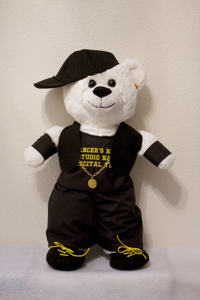Hannah/Harry Hip Hop Bear