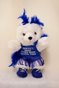 Jazzmin Jazz/Tap Bear in Royal Blue