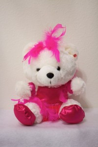 Jessie Jazz/Tap Bear in Hot Pink