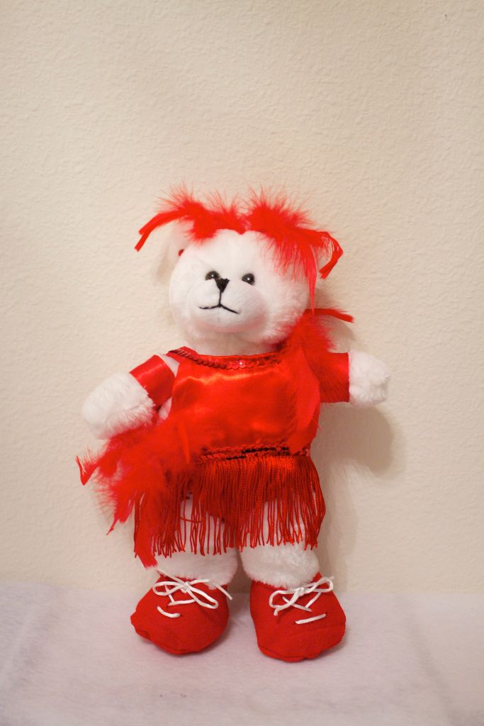Jennie Jazz/Tap Bear in Red