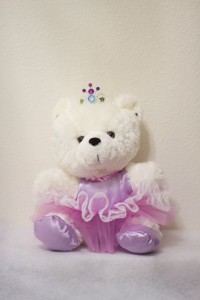 Sabrina Ballerina Bear in Purple