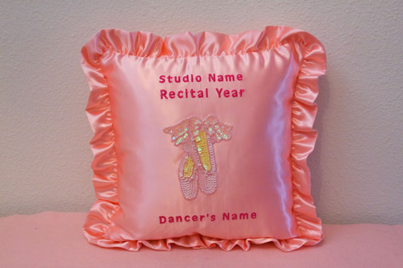 Pink Satin Pillow