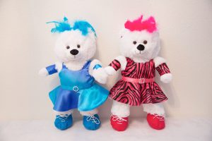 TARA TAP/JAZZ BEARS (WHITE)