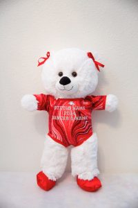 GINA GYMNASTICS BEARS RED