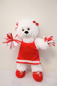 CHERRIE CHEERLEADER RED