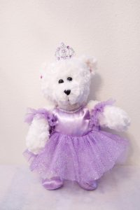 KATRINA BALLERINA BEAR Purple
