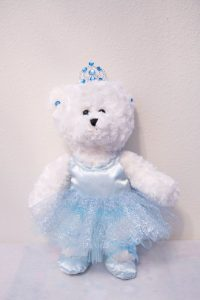 KATRINA BALLERINA BEAR Ice Blue