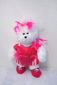 JAZMIN JAZZ/TAP BEARS HOT PINK