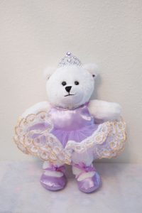 NINA BALLERINA BEAR PURPLE