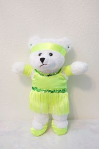 TAMARA TAP/JAZZ BEAR FLUORESCENT GREEN