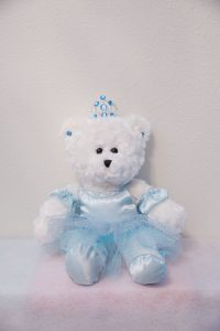 Sabrina Ballerina Bears Ice Blue