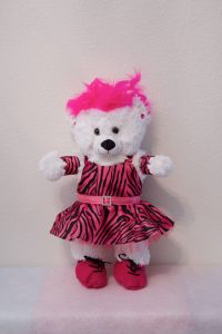 Tara Tap/Jazz Bear Hot Pink/Black