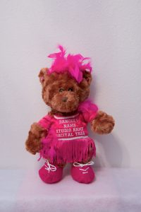 Jazmin & Jeffrey Jazz/Tap Bears Hot Pink