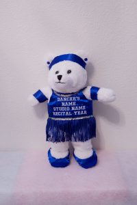 Tamara Tap/Jazz Bears Fluorescent Royal Blue