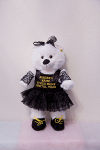 Harry and Hannah Hip Hop Bears Black & Gold