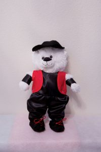 Harry and Hannah Hip Hop Bears Black & Red