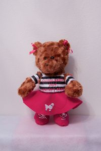 PEGGY POODLE BEARS Hot Pink