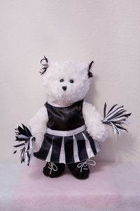CHERRIE CHEERLEADER BEARS Black